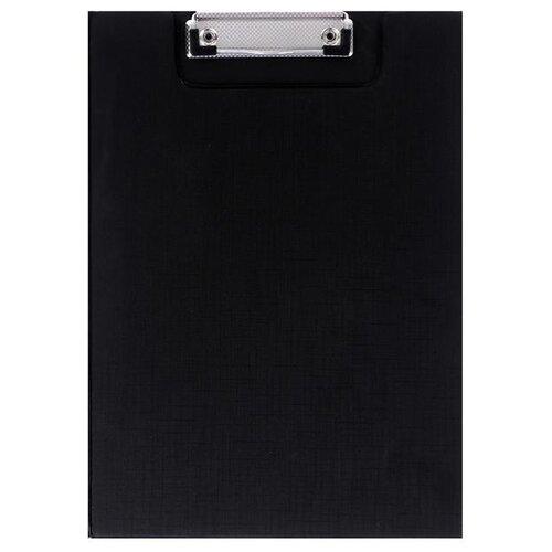 Купить Calligrata Папка-планшет с прижимом А4, пластик черный, Файлы и папки