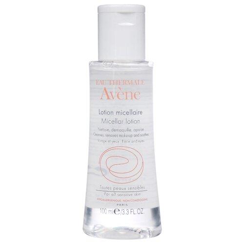 AVENE мицеллярный лосьон для очищения кожи и удаления макияжа, 100 мл ducray неоптид лосьон от выпадения волос для мужчин 100 мл