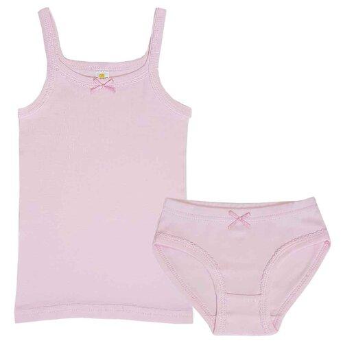 Комплект нижнего белья Папитто размер 92-98, розовый комплект нижнего белья ibala размер 30 92 98 белый розовый красный