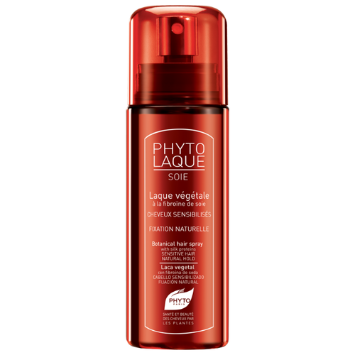 PHYTO Лак для волос Phytolaque Soie, слабая фиксация, 100 мл phyto для волос официальный сайт