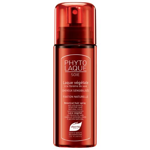 PHYTO Лак для волос Phytolaque Soie, слабая фиксация, 100 мл phyto phytocyane