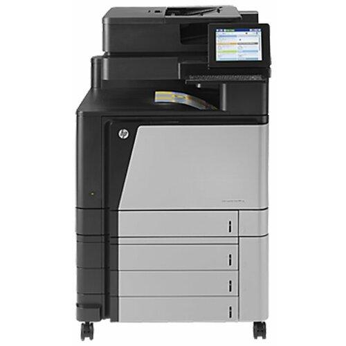 Фото - МФУ HP Color LaserJet Enterprise flow MFP M880z черный/серый мфу hp color laserjet enterprise 800 mfp m880z a2w75a цветной a3 46ppm факс дуплекс hdd 320гб ethernet usb