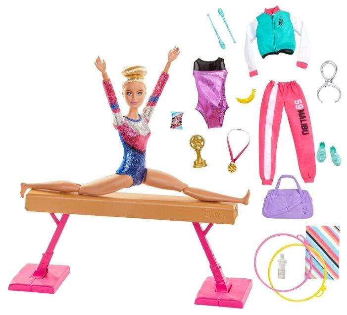 Кукла Mattel Barbie Гимнастка GJM72