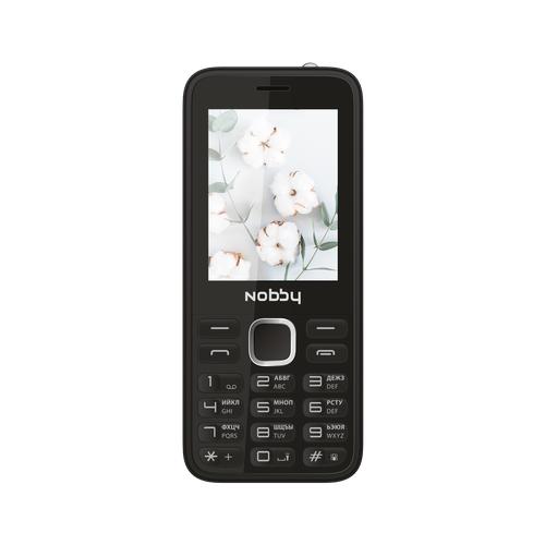 Телефон Nobby 221 черный (NBP-BP-24-211) сотовый телефон nobby 221 black