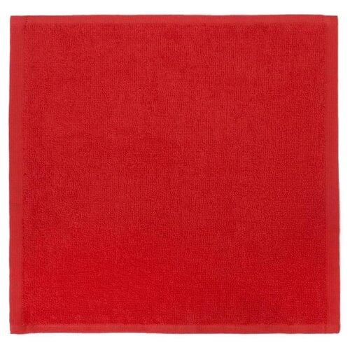 Этель полотенце Тепла и уюта в Новом году для рук 30х30 см красный