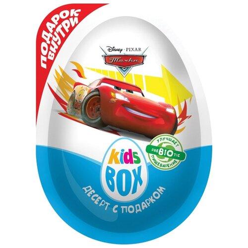 Шоколадное яйцо Конфитрейд KidsBox DISNEY ТАЧКИ десерт с подарком, 20 г шоколадное яйцо с игрушкой конфитрейд шоки токи disney тачки 20 г