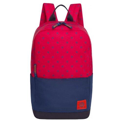 Рюкзак Grizzly RQ-921-5/2 23 (красный/синий) grizzly rq 007 8 рюкзак 2 синий