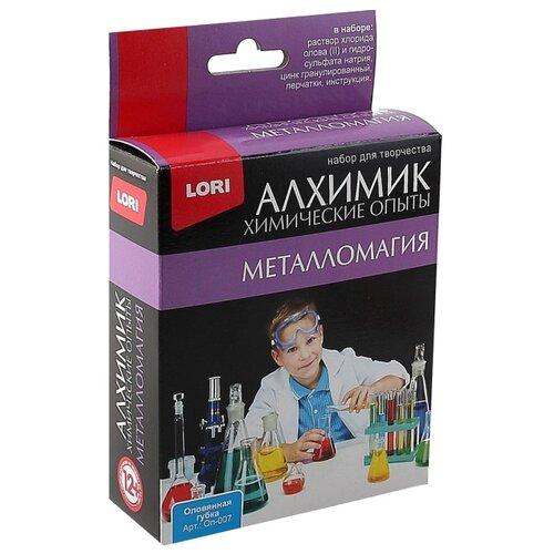 Фото - Набор LORI Металломагия. Оловянная губка наборы для опытов и экспериментов lori химические опыты 2 в 1 мохнатый гвоздь и оловянная губка
