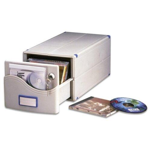 Фото - Бокс для CD/DVD дисков на 30 шт, замок, ProfiOffice, серый, МВ-30SL goldfrapp goldfrapp seventh tree limited edition cd dvd