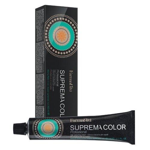 Купить FarmaVita Suprema Color Крем-краска для волос The Mineral Shadows, 7.72 коричнево-перламутровый блондин, 60 мл