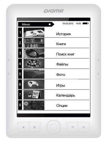Электронная книга DIGMA E63W