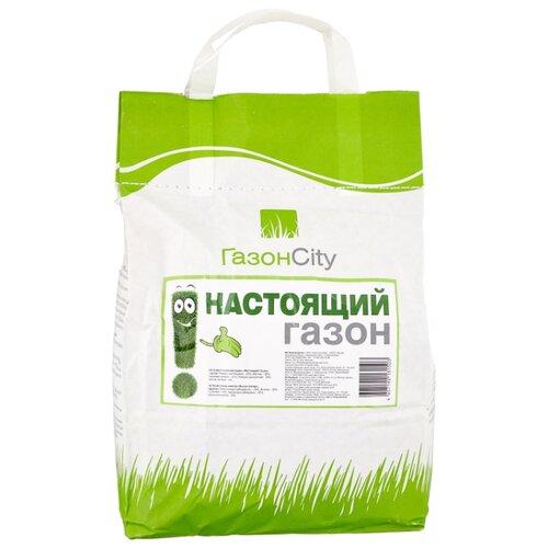 цена на Смесь семян ГазонCity Настоящий газон, 2 кг