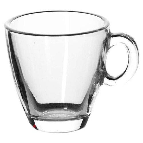 Фото - Кружка Pasabahce Aqua, 72 мл, прозрачный кружка стеклянная pasabahce грей 325 мл