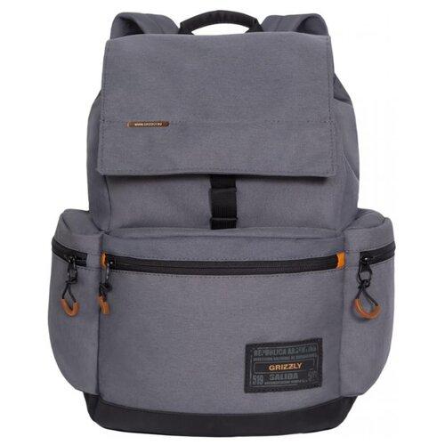 Рюкзак Grizzly RQ-921-6/3 16 (серый)