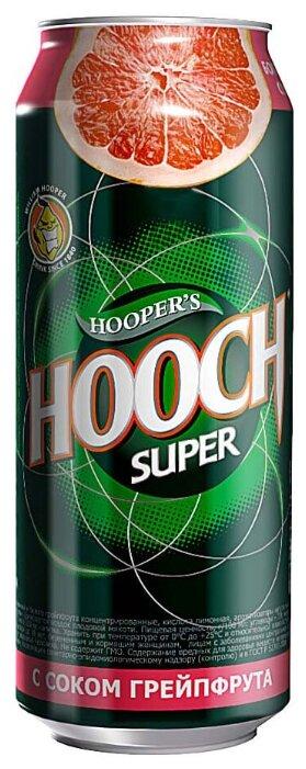 Слабоалкогольлный напиток Hooper's Hooch с соком грейпфрута, 0.5 л