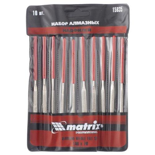 Фото - Набор надфилей matrix 15835 (10 шт.) набор надфилей зубр