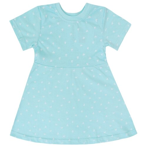 Платье KotMarKot Лето 2020 размер 98, голубой платье для девочки let s go цвет голубой 8150 размер 98