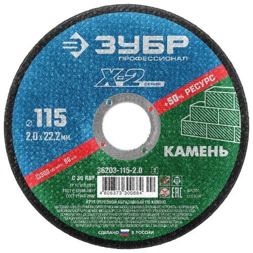 ЗУБР Профессионал X-2 36203-115-2.0, 115 мм 1 шт.