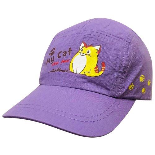 Купить Бейсболка Be Snazzy размер 46, фиолетовый, Головные уборы