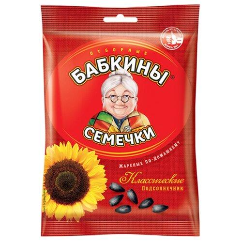Семена подсолнечника Бабкины Семечки Классические жареные по-домашнему 100 г