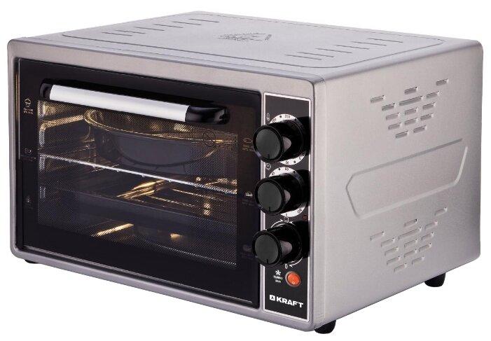 Мини-печь KRAFT KF-MO 3803 KGR — цены на Яндекс.Маркете