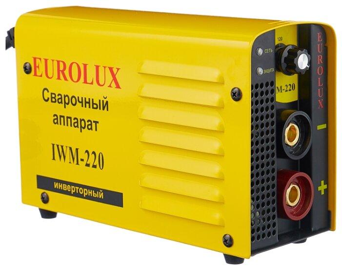 Сварочный аппарат Eurolux IWM-220 (MMA)