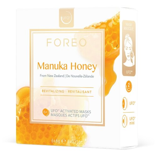 FOREO Manuka Honey Маска, активированная UFO, 6 г, 6 шт. foreo call it a night ufo activated mask