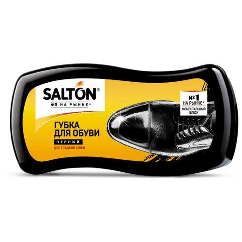SALTON Губка-волна для гладкой кожи черный