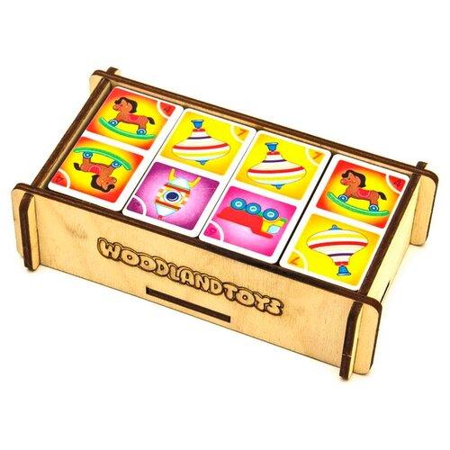 Купить Настольная игра Woodland Домино Игрушки, Настольные игры