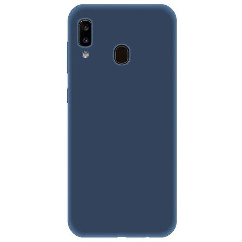 Фото - Чехол LuxCase TPU для Samsung Galaxy A20 (2019) синий чехол luxcase tpu для huawei y7 2019 синий