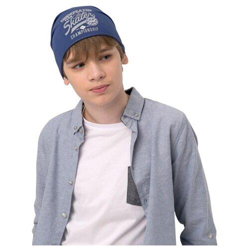 Купить Шапка Kotik размер 54-56, синий, Головные уборы