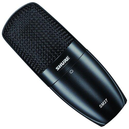 Микрофон Shure SM27, черный
