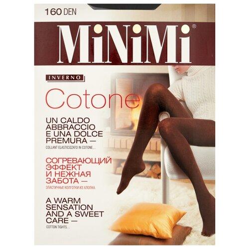Колготки MiNiMi Cotone 160 den, размер 6-XXL, nero (черный) колготки minimi cotone 250 den размер 4 l nero черный