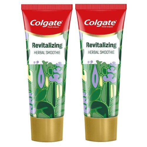 Купить Зубная паста Colgate Зеленый смузи освежающая, 75 мл, 2 шт.