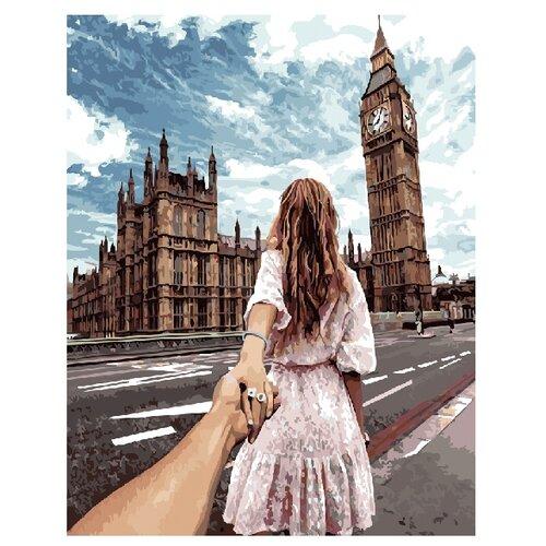Купить ВанГогВоМне Картина по номерам Следуй за мной. Лондон , 40х50 (ZX 20429), Картины по номерам и контурам