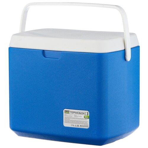 ECOS Термобокс KY105/KY106 синий/белый 10 л фото