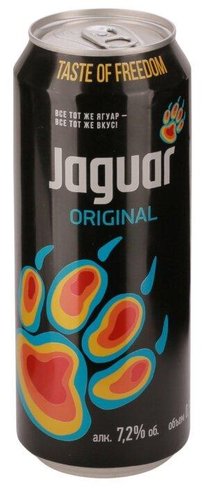Слабоалкогольный напиток Jaguar Original, 0.5 л
