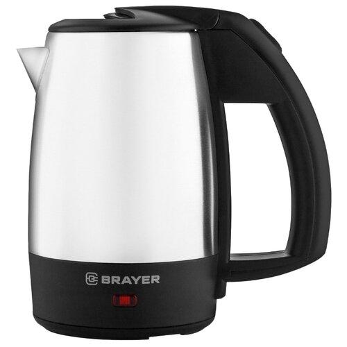 Фото - Чайник BRAYER BR1080, черный чайник brayer br1020
