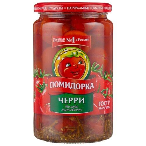 Фото - Томаты черри маринованные Помидорка, 680 г лечо сладкий перец в томатном соусе помидорка 680 г