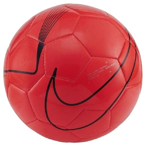 Футбольный мяч NIKE Mercurial Fade SC3913 красный 5 nike бутсы для мальчиков nike phantom venom academy tf размер 34 5