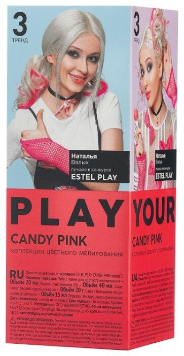 ESTEL Play Краска для волос Коллекция цветного мелирования