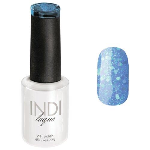 Купить Гель-лак для ногтей Runail Professional INDI laque с крупными блестками, 9 мл, оттенок 3576