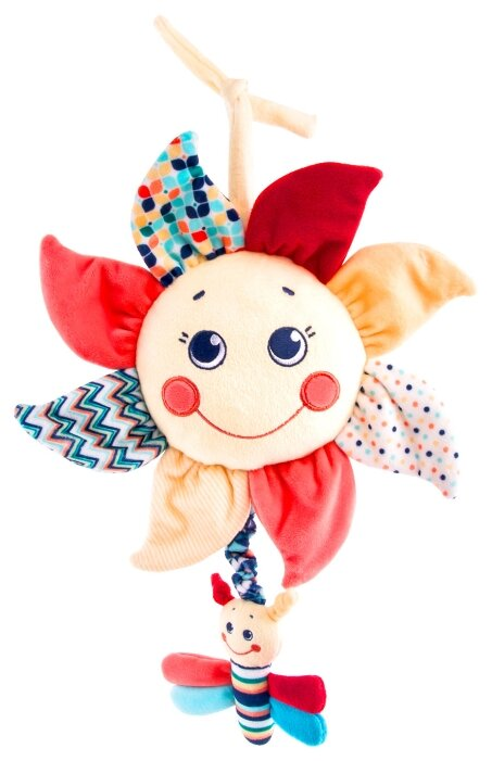 Подвесная игрушка Happy Snail Подсолнух (19HS005MP) — в наличии, купить по выгодной цене на Яндекс.Маркете