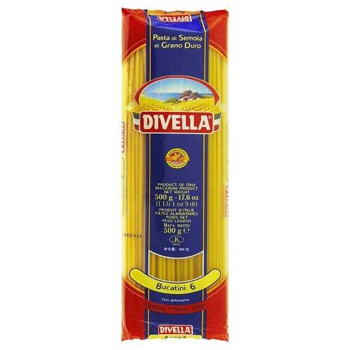 Divella Макароны Bucatini 6 из твердых сортов пшеницы, 500 г мистраль крупа манная семолина из твердых сортов пшеницы 450 г