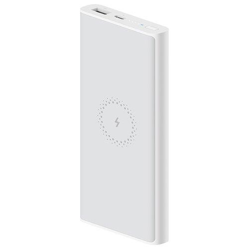 Аккумулятор Xiaomi Mi Wireless Power Bank Essential / Youth Edition, 10000 mAh (WPB15ZM), белый аккумулятор xiaomi mi wireless power bank essential youth edition 10000 mah wpb15zm белый