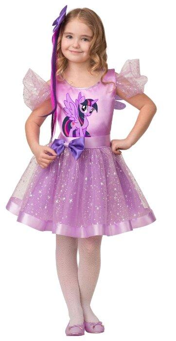 Карнавальный костюм для детей Батик Искорка Литл Пони детский, 32 (122 см)