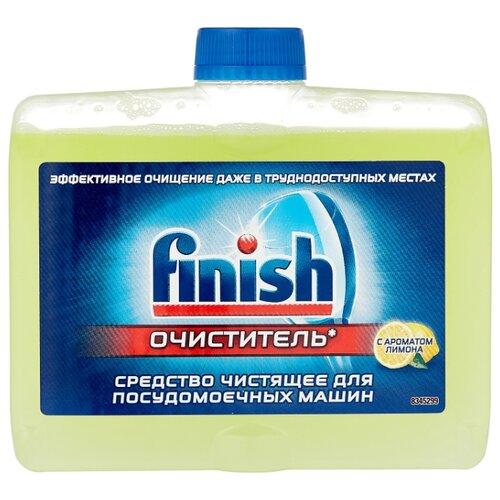 Finish Очиститель для посудомоечных машин Лимон 250 мл недорого