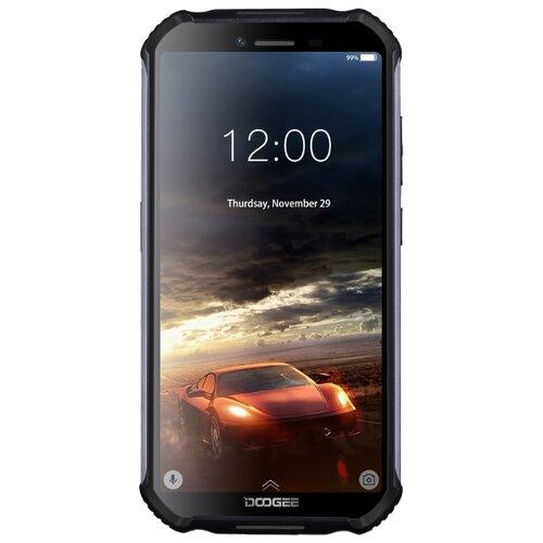 Смартфон DOOGEE S40 16GB черный смартфон doogee x11 1 8gb черный