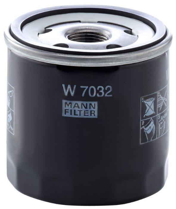 Масляный фильтр MANNFILTER W7032