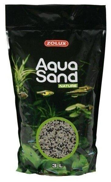 Грунт ZOLUX Aquasand Nature Mix Havaii 3 л, 4.2 кг